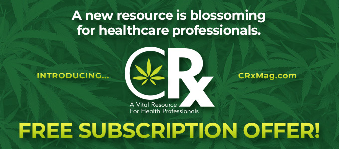 A new resource is blossoming for healthcare professionals. Introducing... CRx Magazine | FREE SUBSCRIPTION OFFER!